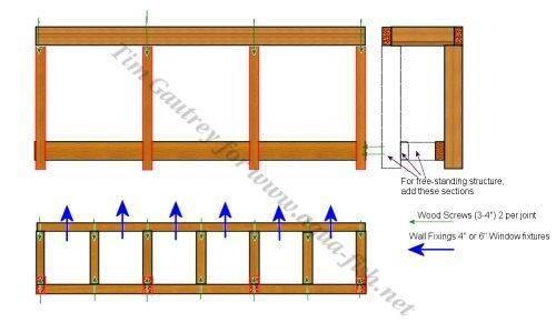bau eines massgefertigten gestells f r fischtanks. Black Bedroom Furniture Sets. Home Design Ideas